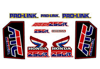Decal Kit for a 85-86 Honda ATC 250r 3-wheeler    ATC250r ATC 250r set 4