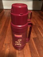 Vintage Thermos Dunkin Donut Travel Mug  And Cups