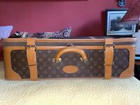 Vintage Authentic Medium LOUIS VUITTON Luggage Case Suitcase Travel Bag