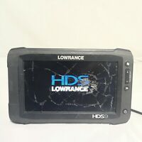 Lowrance HDS-9 Gen2 Touch BROKEN SCREEN MISSING BACK COVER SOLD AS IS