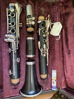Buffet R13 Bb Wood Clarinet Silver Plated Keys Early 1990 Professionally Tuned