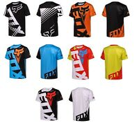 Fox Racing Jersey T Shirt Men#x27;s Motocross MX ATV BMX MTB Cycling Bike Tops US