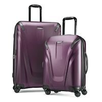 Samsonite ProStrength 2-Piece Hardside Luggage Set -Purple- Free Shipping