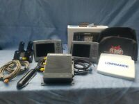 Lowrance hds7 Bundle, hds7 gen1, hds7 gen 2, lss1 structure scan depth/fishfinde