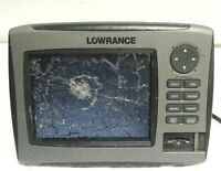 Lowrance HDS 7 Gen 2 Fishfinder - As Is broken screen powers on