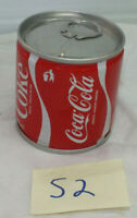 Vintage and Rare Steel South Africa Cola Mini Can pull tab 175ml Near Mint Coke