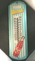 Vintage HIRES ROOT BEER THERMOMETER Rare Old Advertising Sign 27 1/2
