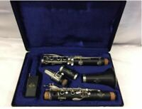 Buffet Crampon amp; Cue E11 Clarinet with Case Shipped from Japan