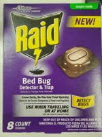 8 Raid Bed Bug Detector amp; Trap Use when traveling or at home Detect Bugs