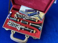 Pre Owned BUFFET E11 Clarinet in Bb Repadded PERFECT Ships FREE WORLDWIDE