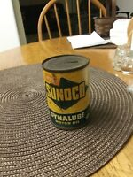 VINTAGE quot;NEW SUNOCO DYNALUBE MOTOR OILquot; CAN BANK 3#x27;#x27; TALL SUN OIL CO.