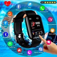2021 Bluetooth Smart Watch Phone Mate For iPhone IOS Android Samsung Waterproof $13.49