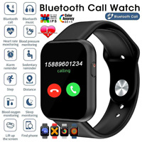2021 Bluetooth Smart Watch Phone Mate For Android Samsung Universal* Heart Rate $17.77