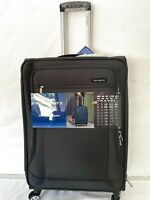 $380 Samsonite X Tralight 2.0 25quot; Expandable Spinner Suitcase Luggage Gray Soft