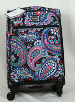 Vera Bradley 22quot; Small Spinner Suitcase Travel Luggage Haymarket Paisley NWT