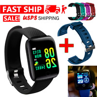 2021 Waterproof Bluetooth Smart Watch Phone Mate For Samsung Android Universal $11.99