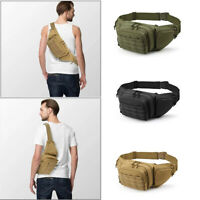 Concealed Carry Fanny Pack Holster Tactical Military Pistol Waist Pouch Gun Bag