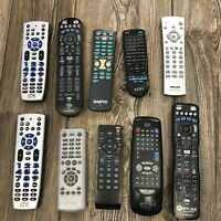 Lot of 10 Remote Controls One For All Samsung Apex phillips Universal Sanyo $40.00