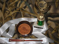 MALLARDTONE COMPETITION SERIES ELITE CUSTOM GLASS TURKEY CALL FRICTION POT NWTF