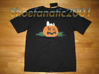 3caf94977 Original Fake KAWS Snoopy Peanuts Halloween Shirt Chomper Supreme XL 4 Black