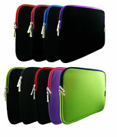 Stylish Soft Neoprene Sleeve Zip Case Cover for 10 11quot; inch Asus Tablet Laptop GBP 7.99