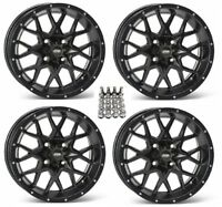 ITP Hurricane ATV Wheels/Rims Matte Black 12