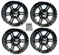 ITP SS212 ATV Wheels/Rims Black 12