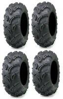 Full set of Maxxis Zilla 25x8-12 and 25x10-12 ATV Mud Tires (4)