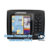 Tuff Protect Anti glare Screen Protectors for Lowrance HDS 5 Fishfinder 2pcs