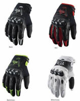 Fox Racing Bomber Motorcycle ATV Bike Gloves Black White M L XL