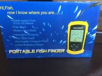 Brand New Portable Fish Finder!!