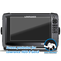 Tuff Protect Anti glare Screen Protectors for Lowrance HDS 9 Gen3 2pcs