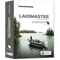 Humminbird Lakemaster Wisconsin v 6.0 600025-3 Digital GPS Map SD Card