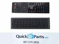 VIZIO Qwerty Dual Side Remote XRT500 with Backlight NEW $7.25