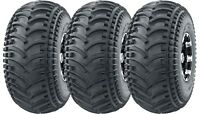 Full set 3Wheeler ATV Tires 22X11-8 22x11x8 4PR DEEP TREAD Mud Sand Hard Terrain