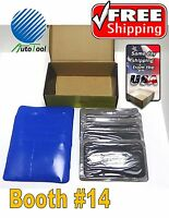 Dual Cure Square Booth Radial Tire Repair Patch 3-3/8