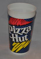 Mint!! Vintage 80's PIZZA HUT & PEPSI Plastic Cup Blue Navy (FAST SHIPPING!!)