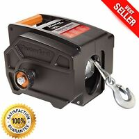 Electric Winch Towing 12 Volt Portable Boat ATV Truck Trailer 2-6000lbs Remote