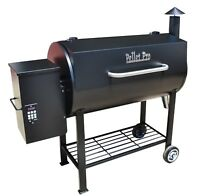 PELLET PRO 680 Stick Burning Wood Fired Pellet Grill w/ Free Cover; PID Controls