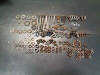 1991 '91 POLARIS TRAIL BOSS 250 FOUR WHEELER 2X4 ATV BODY HARDWARE BOLTS WASHERS