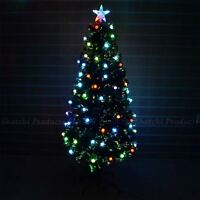 2ft -60cm Christmas tree Fiber Optic Pre-Lit xmas tree with Berry LED Lights