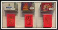 Starbucks Cards Sleeves Chinese New Year Monkey, Rooster, Dog - 2016, 2017, 2018