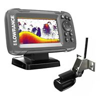 LOWRANCE HOOK2-4x GPS Bullet Fishfinder with Skimmer Transducer - 000-14015-001