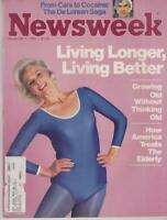 Newsweek: Living Longer Living Better Growing old without thinking old 11 1 82