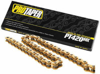 ProTaper Motorcycle ATV Gold Chain 420 Pitch 134 Links 023101