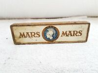 1940's VINTAGE J.S. STAEDTLER MARS ADV. LITHO TIN PENCIL/PEN BOX, GERMANY