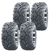 Set of 4 WANDA ATV UTV tires 25x8-12 25X8X12 Front & Rear 6PR P373