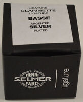 NEW SELMER PARIS BASS CLARINET LIGATURE