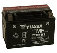 Yuasa Maint - Free VRLA Battery ARTIC CAT CANNONDALE HONDA SUZUKI ATV YTX9-BS