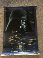 "Star Wars 1996 Pepsi Poster Episode 4: ""A New Hope"" New"